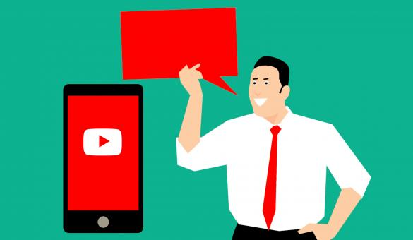 Free Stock Photo of Youtube Marketing Concept