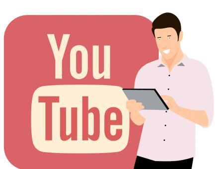 Free Stock Photo of Youtube Illustration