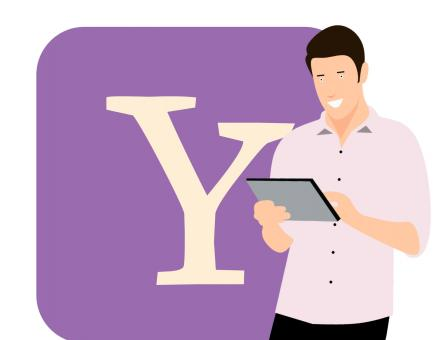Free Stock Photo of Yahoo Illustration