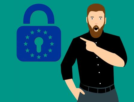 Free Stock Photo of GDPR Concept Illustration