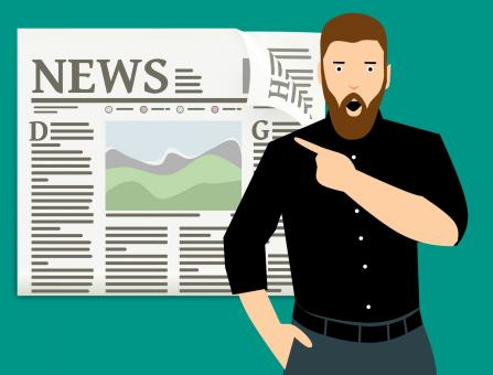 Free Stock Photo of News Illustration