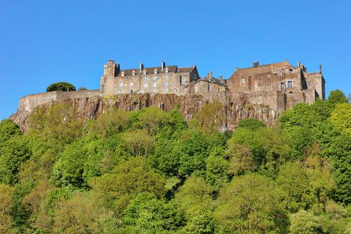 Free Stock Photo of Stirling Castle