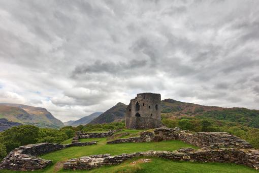 Free Stock Photo of Dolbadarn Castle