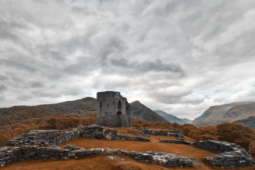 Free Stock Photo of Ancient Dolbadarn Castle