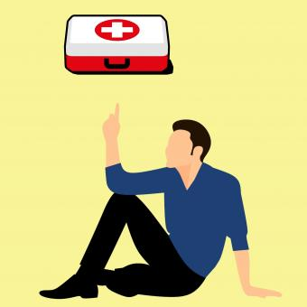 Free Stock Photo of First Aid Kit Illustration