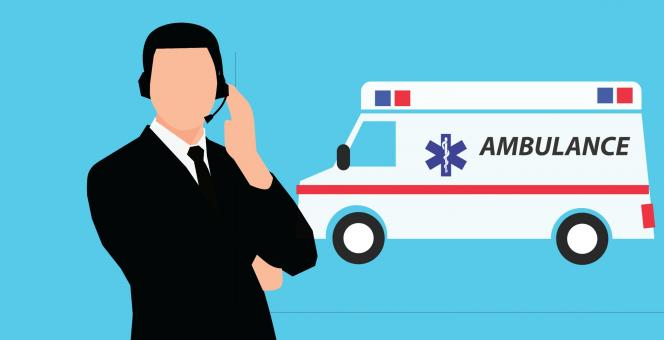 Free Stock Photo of Ambulance Illustration