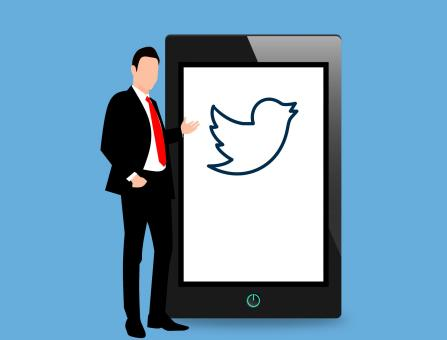 Free Stock Photo of Twitter Social Illustration