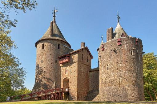 Free Stock Photo of Castle Coch