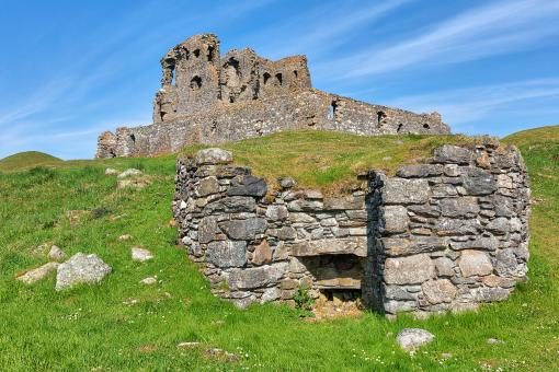 Free Stock Photo of Auchindoun Castle