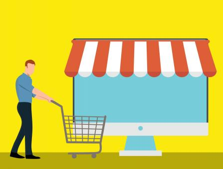 Free Stock Photo of Ecommerce Illustration