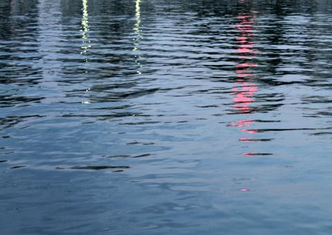 Free Stock Photo of Water Surface in Evening Time