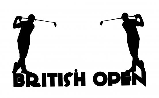 Free Stock Photo of British Open Golf Tournament