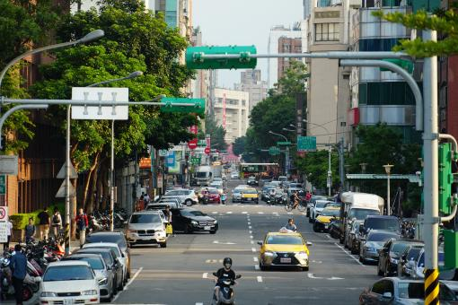 Free Stock Photo of Hangzhou North Road