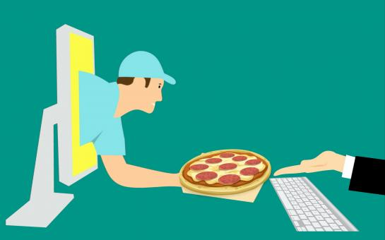 Free Stock Photo of Order pizza online