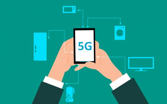 Free Stock Photo of 5G Technology Illustration