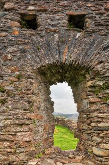 Free Stock Photo of Dolwyddelan Castle Scream