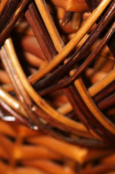 Free Stock Photo of Wooden basket (a fragment)