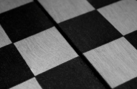 Free Stock Photo of Chekerboard (close-up, black&white)