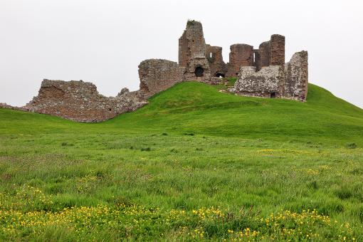 Free Stock Photo of Duffus Castle Hill