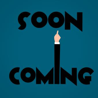 Free Stock Photo of Coming Soon Illustration
