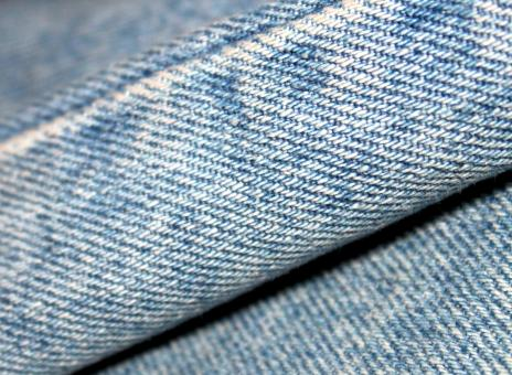 Free Stock Photo of Fragment of a piece of denim