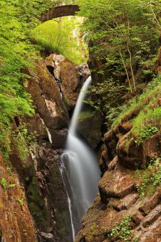 Free Stock Photo of Aira Force Arch Waterfall