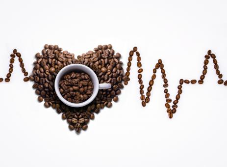 Free Stock Photo of Coffee Heart Rate