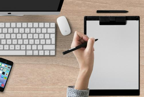 Free Stock Photo of Writing Pad