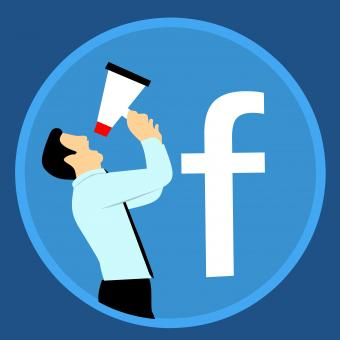 Free Stock Photo of Facebook Marketing Illustration