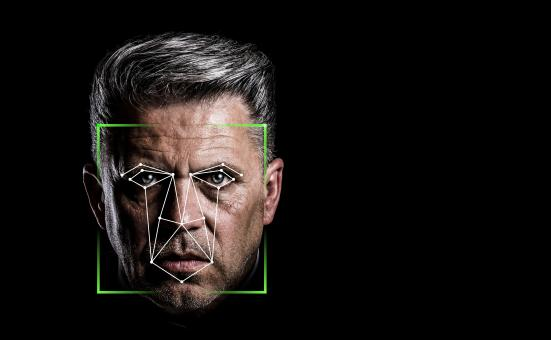 Free Stock Photo of Facial Recognition Concept
