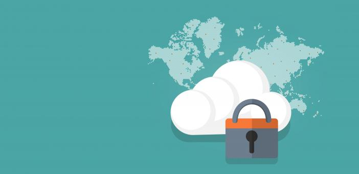 Free Stock Photo of Cloud Security Concept - With Copyspace