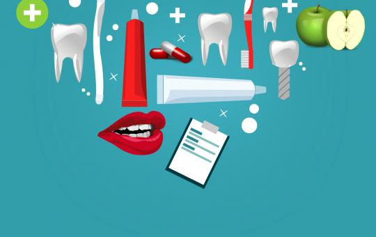 Free Stock Photo of Oral Care Concept Illustration