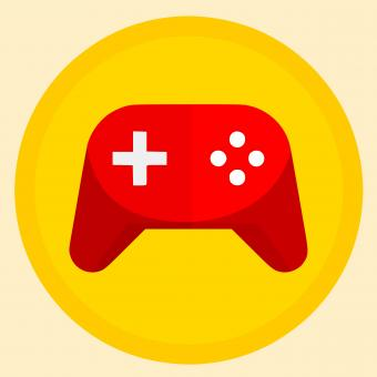 Free Stock Photo of Gamepad Illustration
