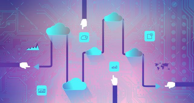 Free Stock Photo of  Cloud Computing - SaaS