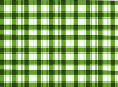 Free Stock Photo of Green and white tablecloth pattern