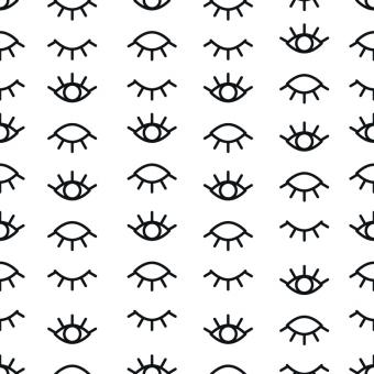 Free Stock Photo of Eyes Vector Pattern