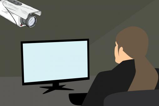 Free Stock Photo of CCTV Illustration