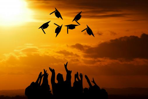 Free Stock Photo of Graduation Ceremony