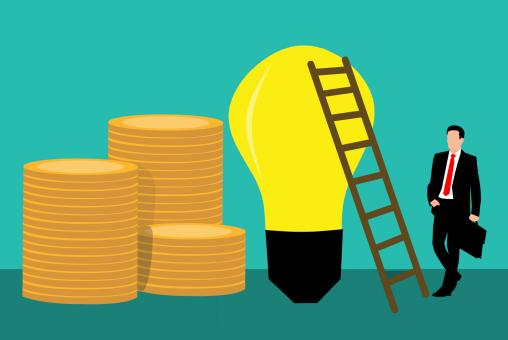 Free Stock Photo of Profitable Idea Illustration
