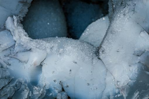 Free Stock Photo of Iced Crystal Background