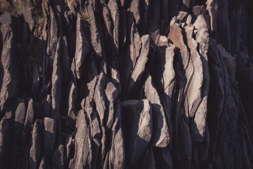 Free Stock Photo of Layered Rock Formation Surface
