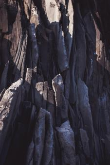 Free Stock Photo of Layered Rock Formation Texture