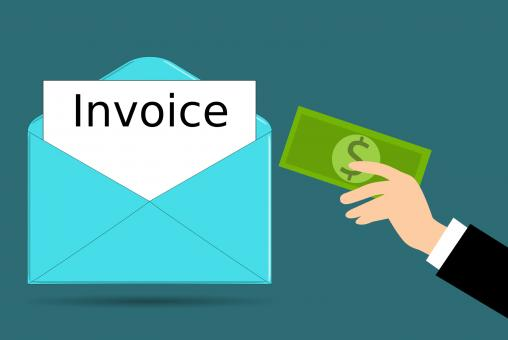 Free Stock Photo of Invoice Payment Illustration