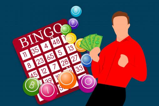 Free Stock Photo of Bingo Winner Illustration