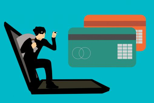 Free Stock Photo of Hacking Credit Card Illustration