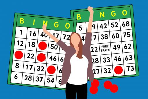 Free Stock Photo of Winning the Bingo Illustration