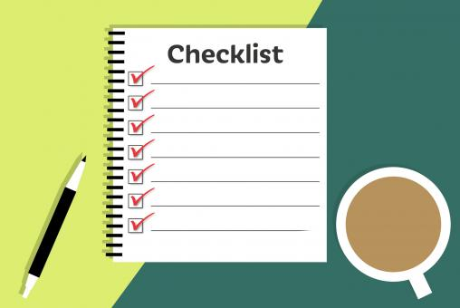 Free Stock Photo of Checklist Illustration