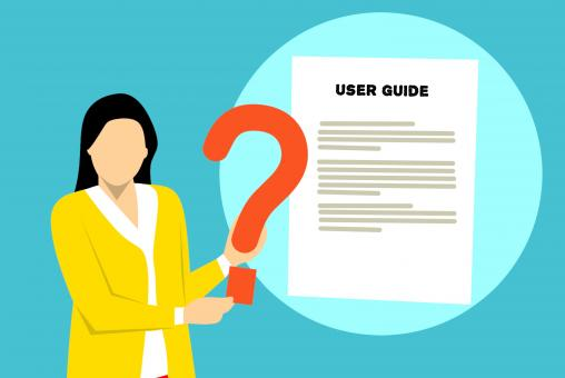 Free Stock Photo of User Guide Illustration