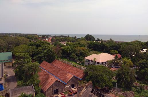 Free Stock Photo of View from Alleppey Lighthouse