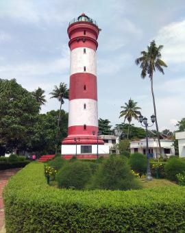 Free Stock Photo of Alleppey Light House Tower